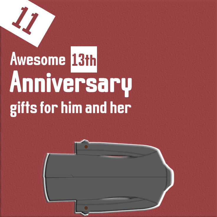 13th-anniversary gifts for him and her
