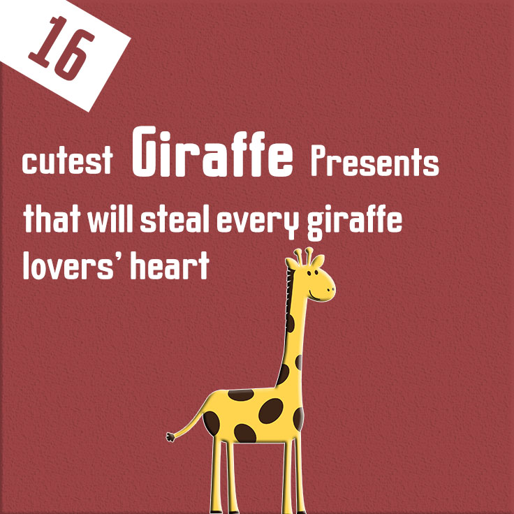 16 cutest giraffe presents that will steal every giraffe lovers' heart