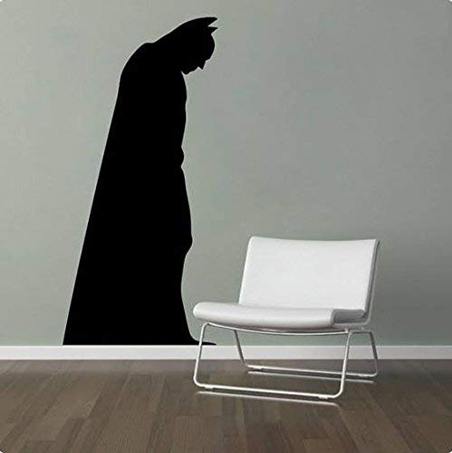 Batman Wallpaper Kids Room Gift Multi-Colour Baby Peel and Stick Wall Sticker