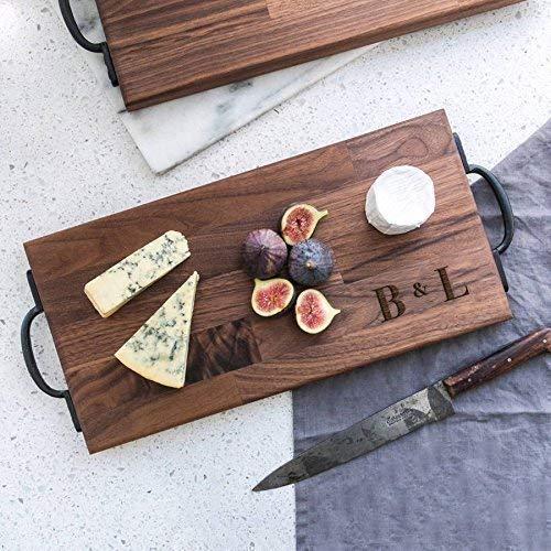 Personalised Chopping Board in Walnut