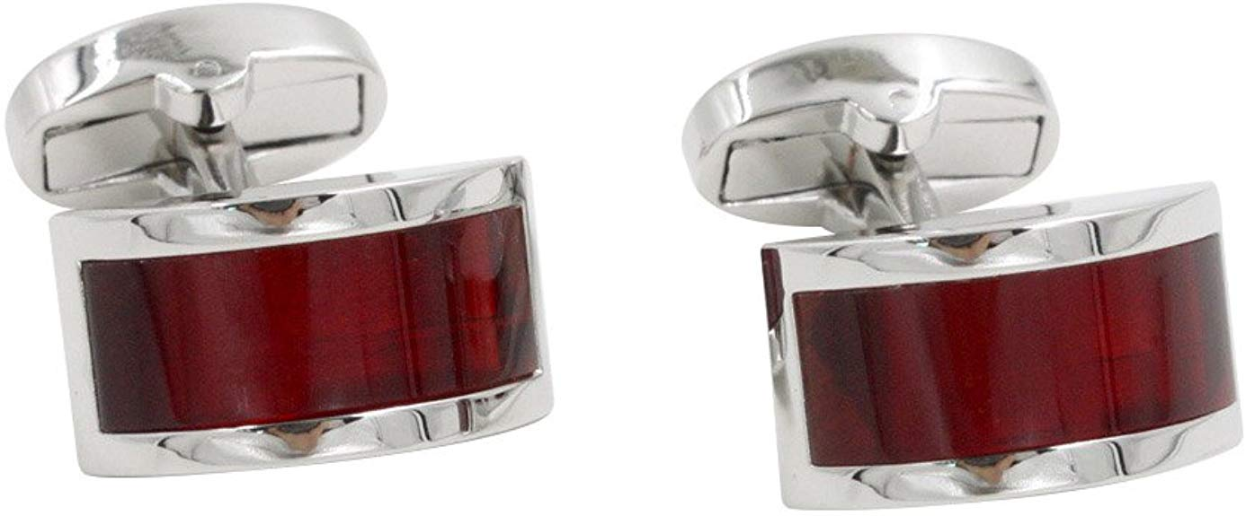 Ruby Stone Red Cufflinks