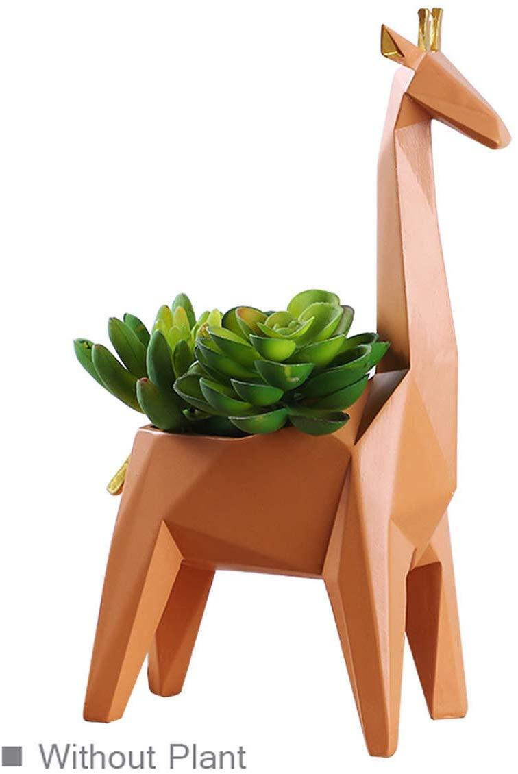 Amoy-Art Succulent Cactus Planter Flower Pot Giraffe