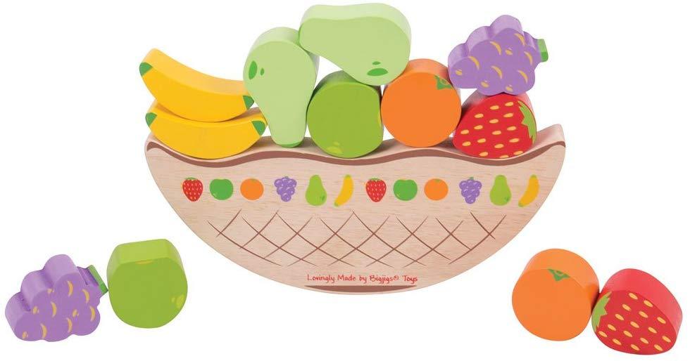 Bigjigs Toys Fruit Balancing Game