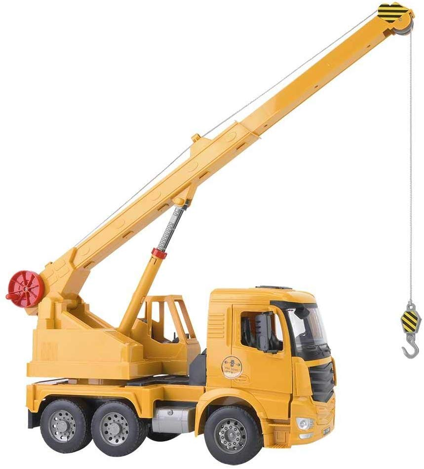 Neufday Manual Large Crane Construction Vehicle Construction Children's Toy Car