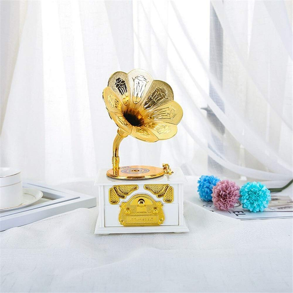 Gift Home Decoration Clockwork Type Music Box