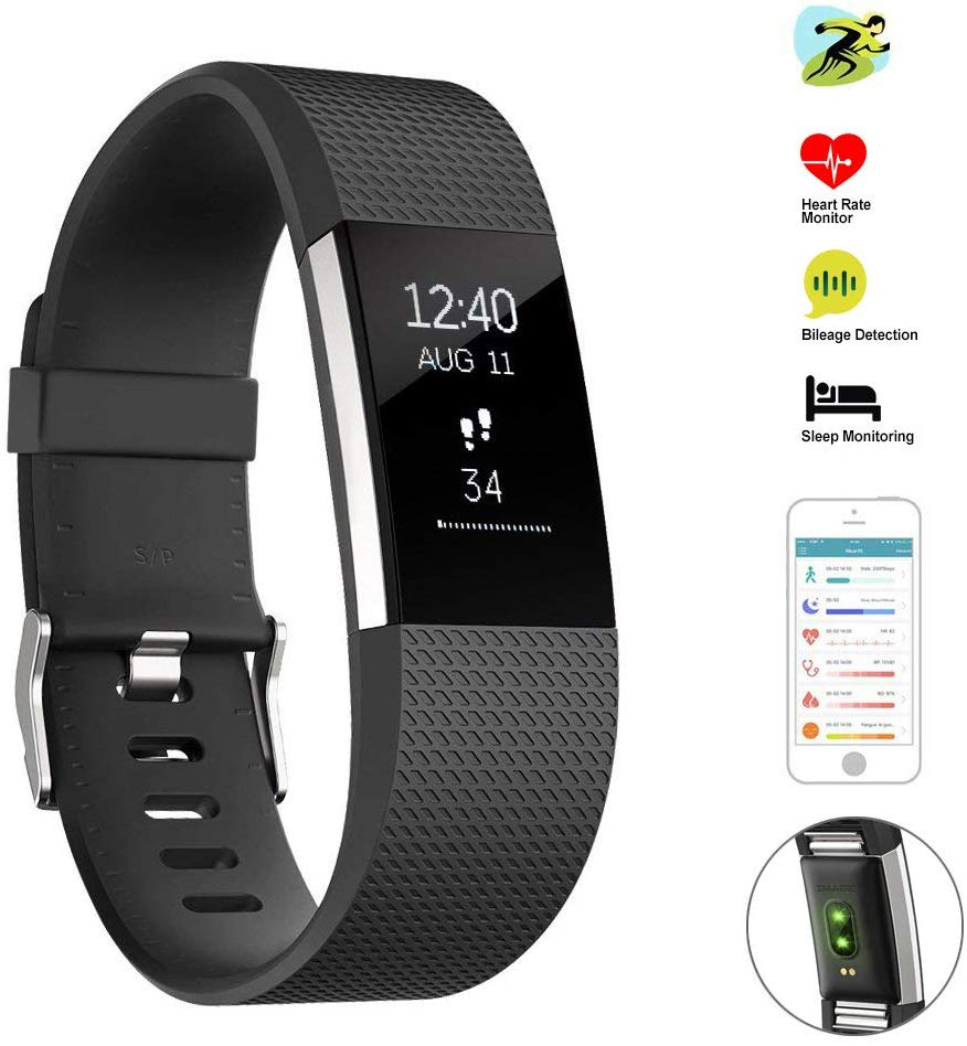 Bluetooth Wireless Smart Wristwatch Body Health Tracker for Android and IOS Smartphones