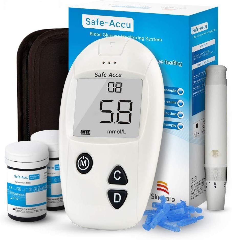 sinocare Diabetes Testing Kit/Blood Glucose Monitor