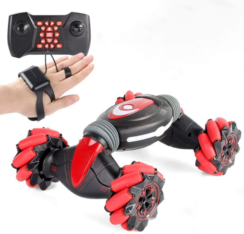 Creamon RC Car Gesture Sensor Watch Control Double Side Stunt Cars