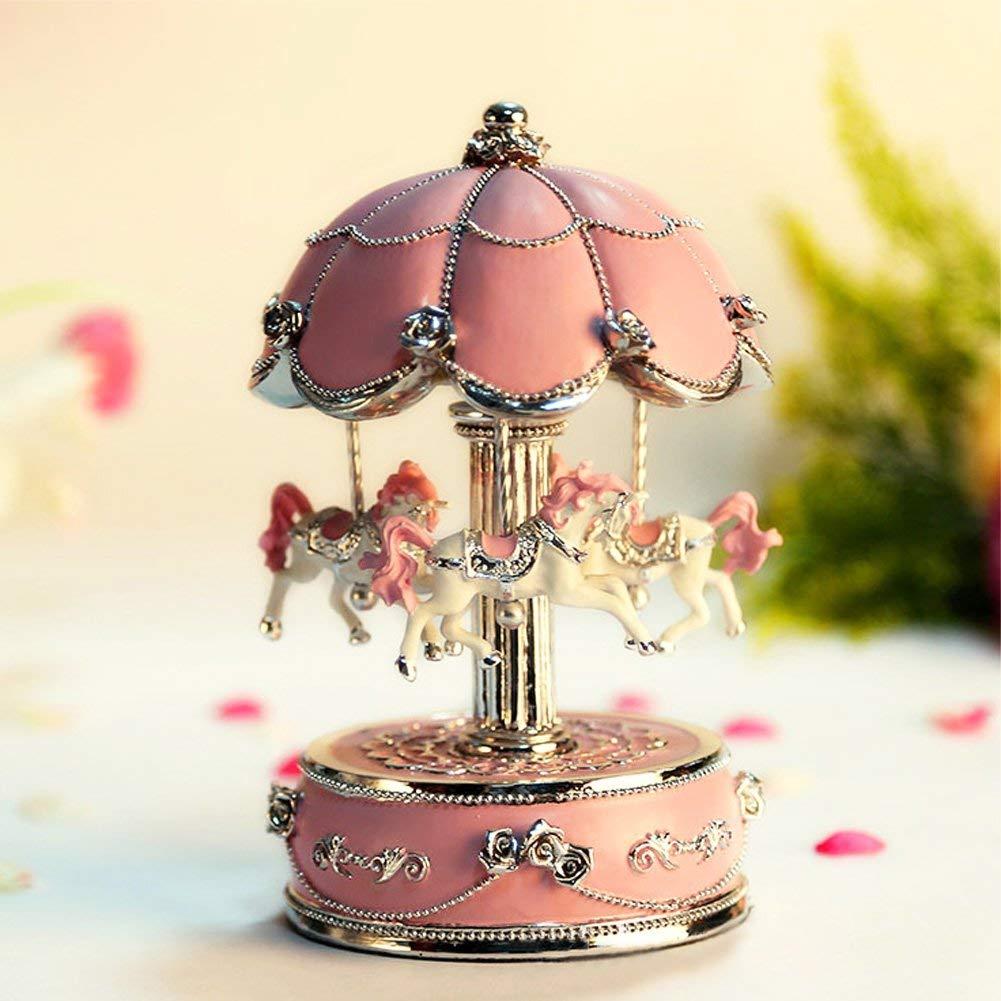 Luxury Carousel Music Box