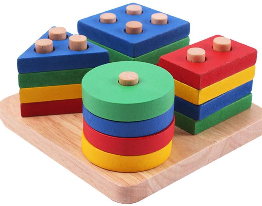 Wooden Shape Sorter Board