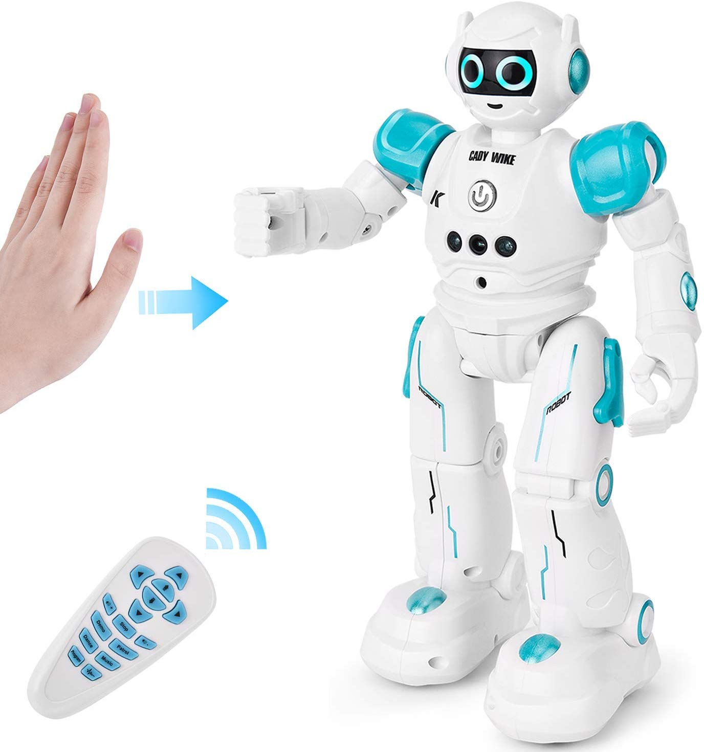 Programmable RC Robot Toys for Kids Boys