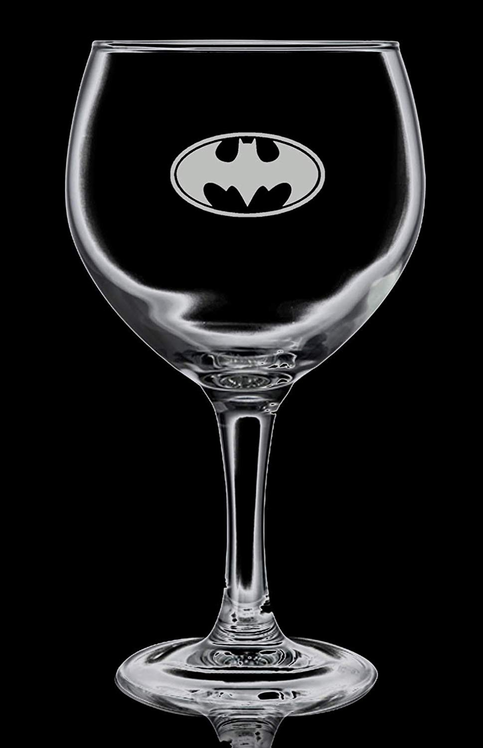 Batman Logo 1 Gin Balloon Glass