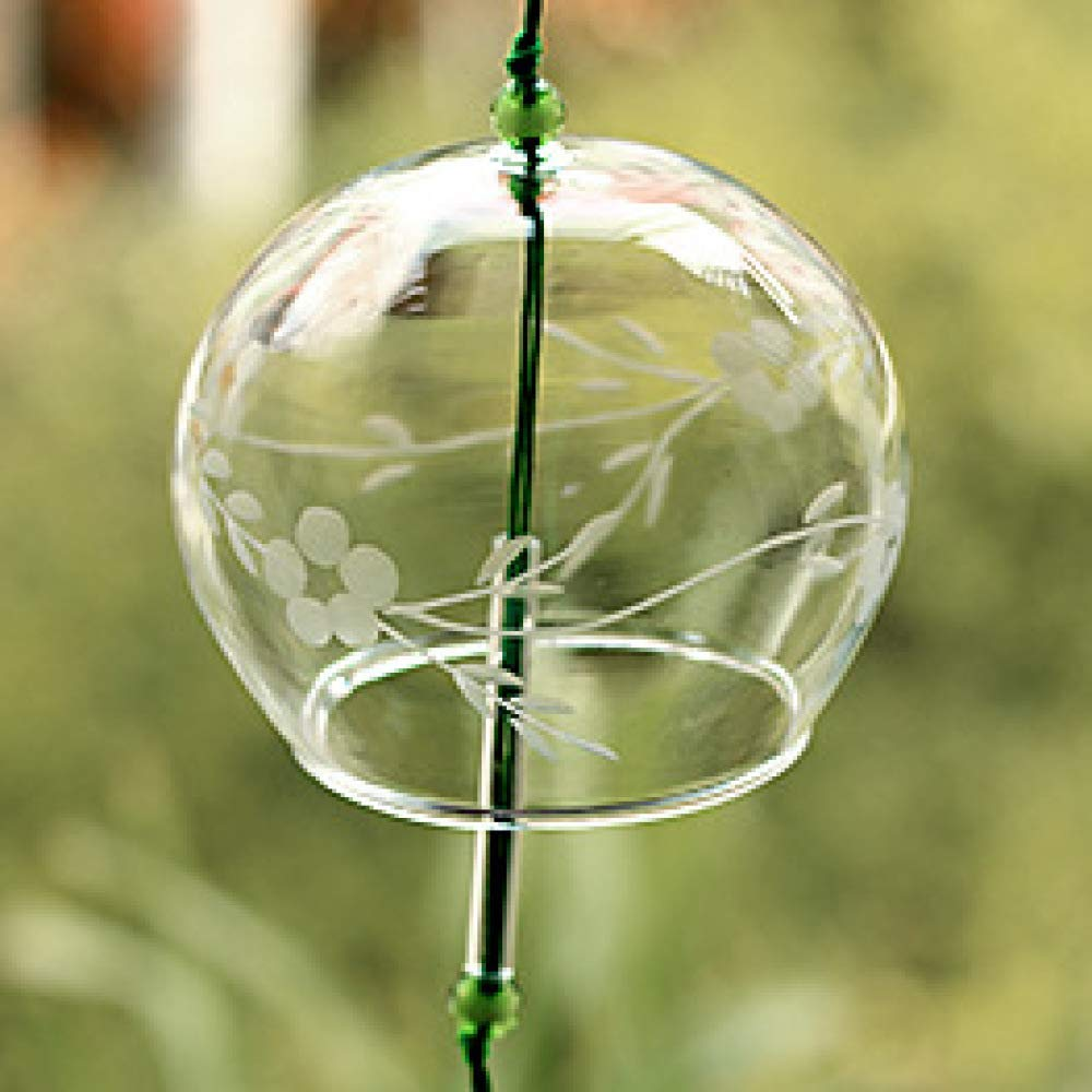 Japanese Style Glass Wind Chime