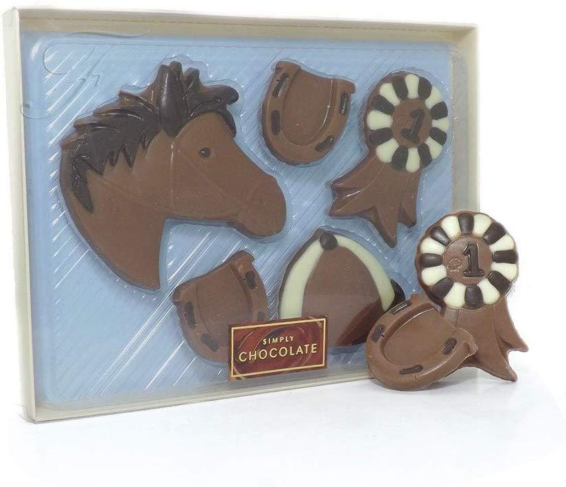 Chocolate Horse Riding Gift Set