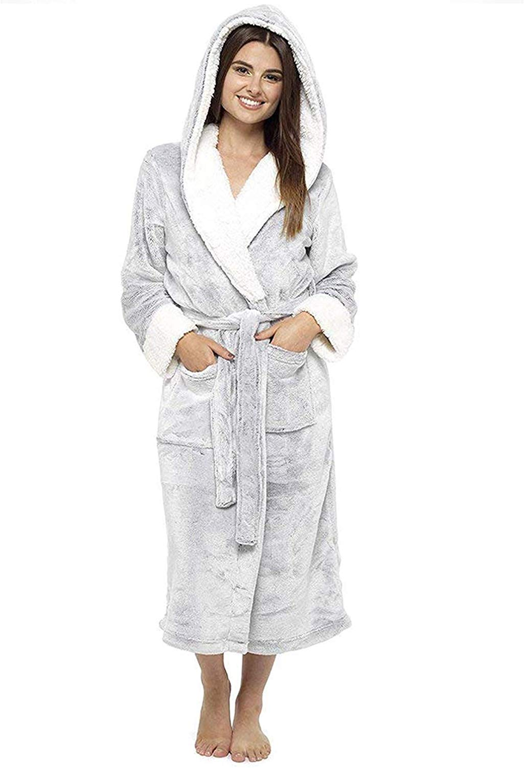 Women Housecoat Loungewear Bathrobe
