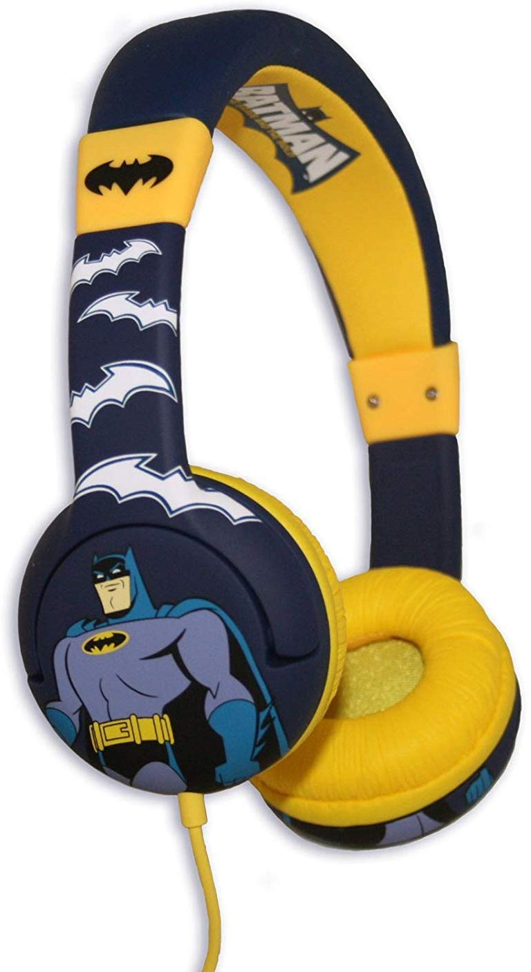 Batman 'The Brave And The Bold' Themed Kids Childrens Multi Colour Headphones
