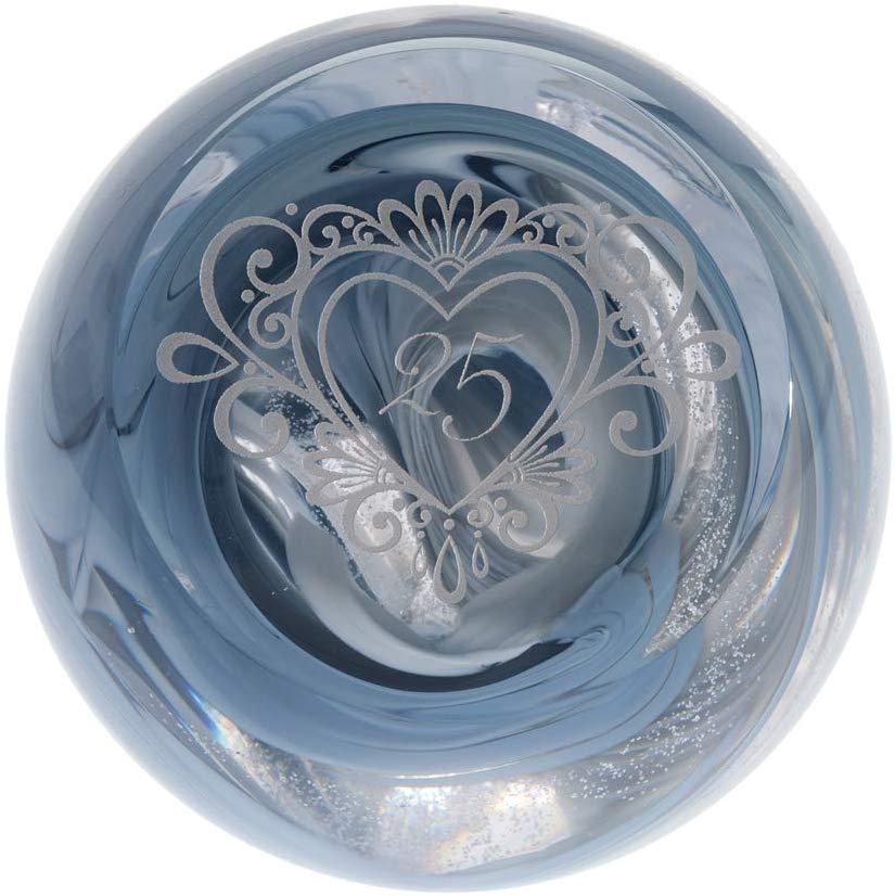 Caithness Glass Celebration-25, Silver
