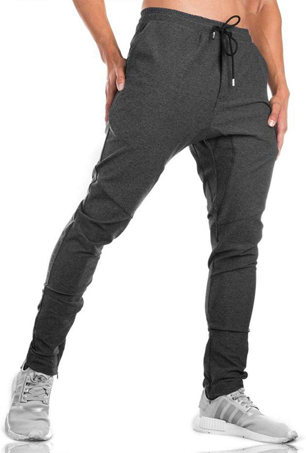 Mens Gym Jogger Trousers Tracksuit