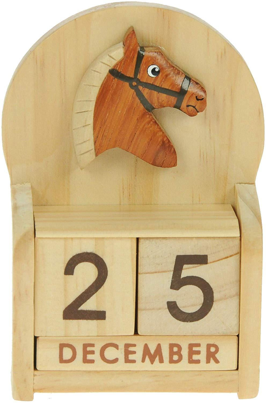 Namesakes Horse Perpetual Calendar