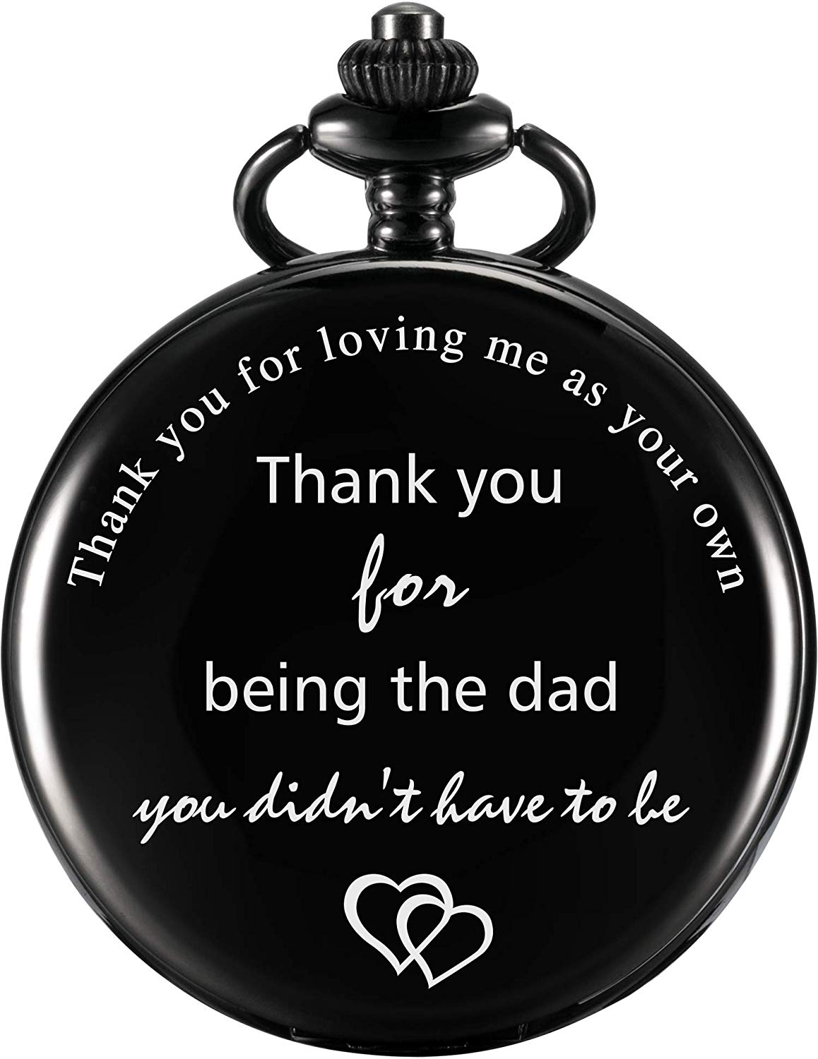 Dad Gift Pocket Watch for Father in Law