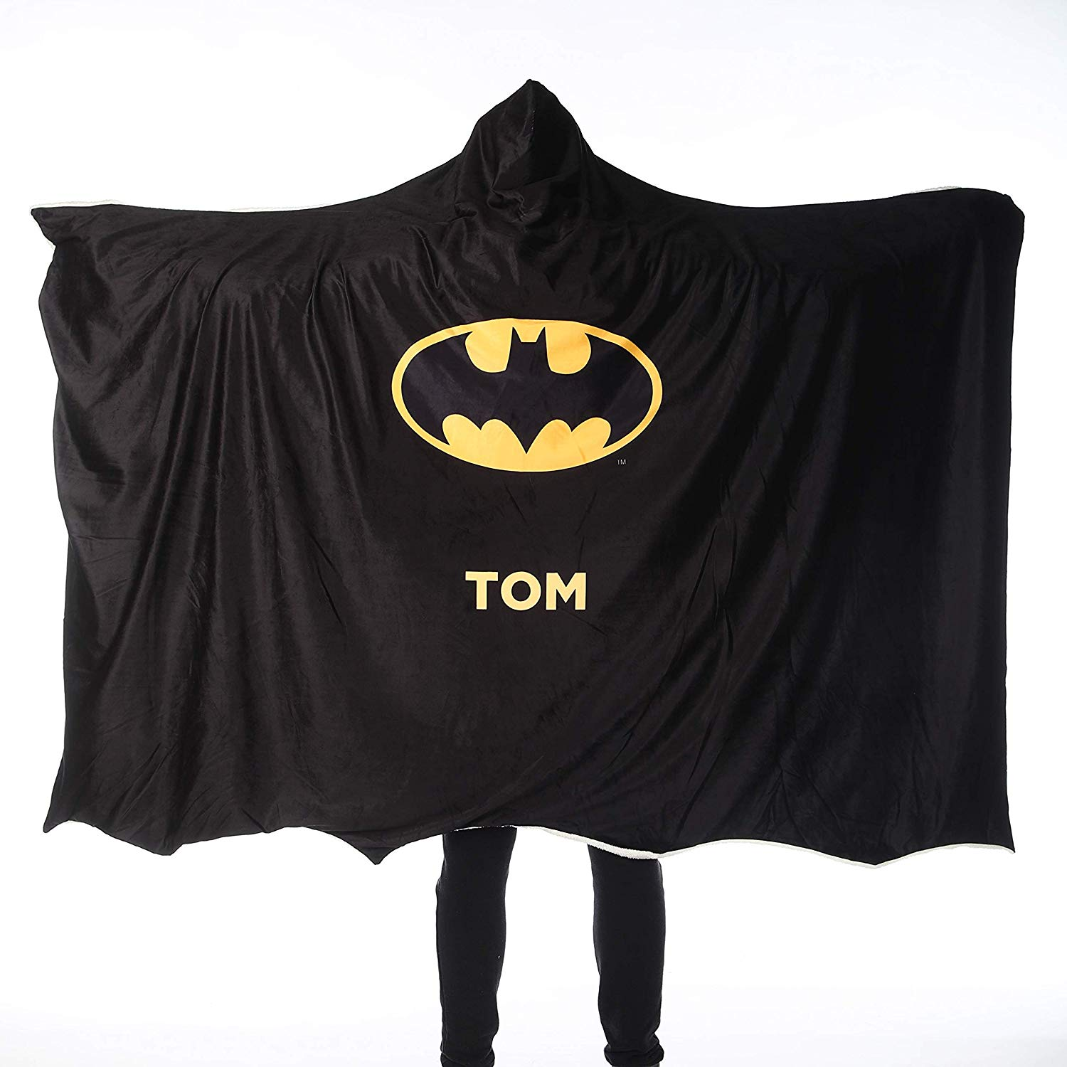 Custom Gifts Batman Adult Hooded Blanket - Batman Cape