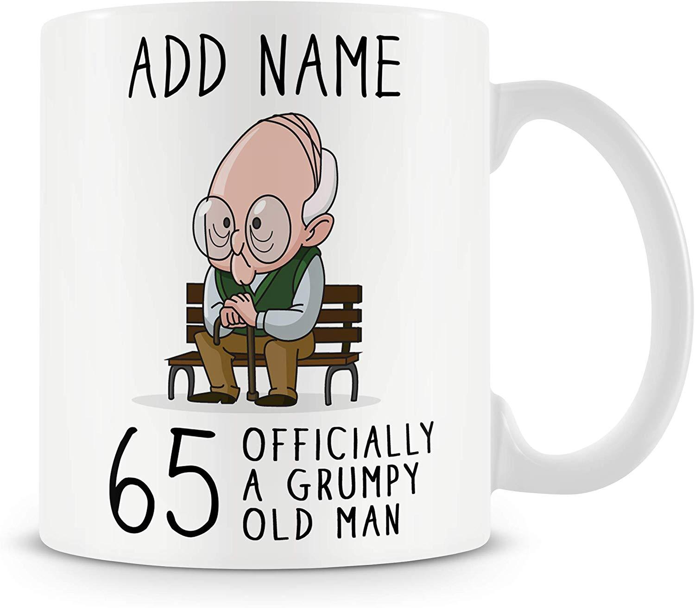 Personalised 65 Mug/Cup