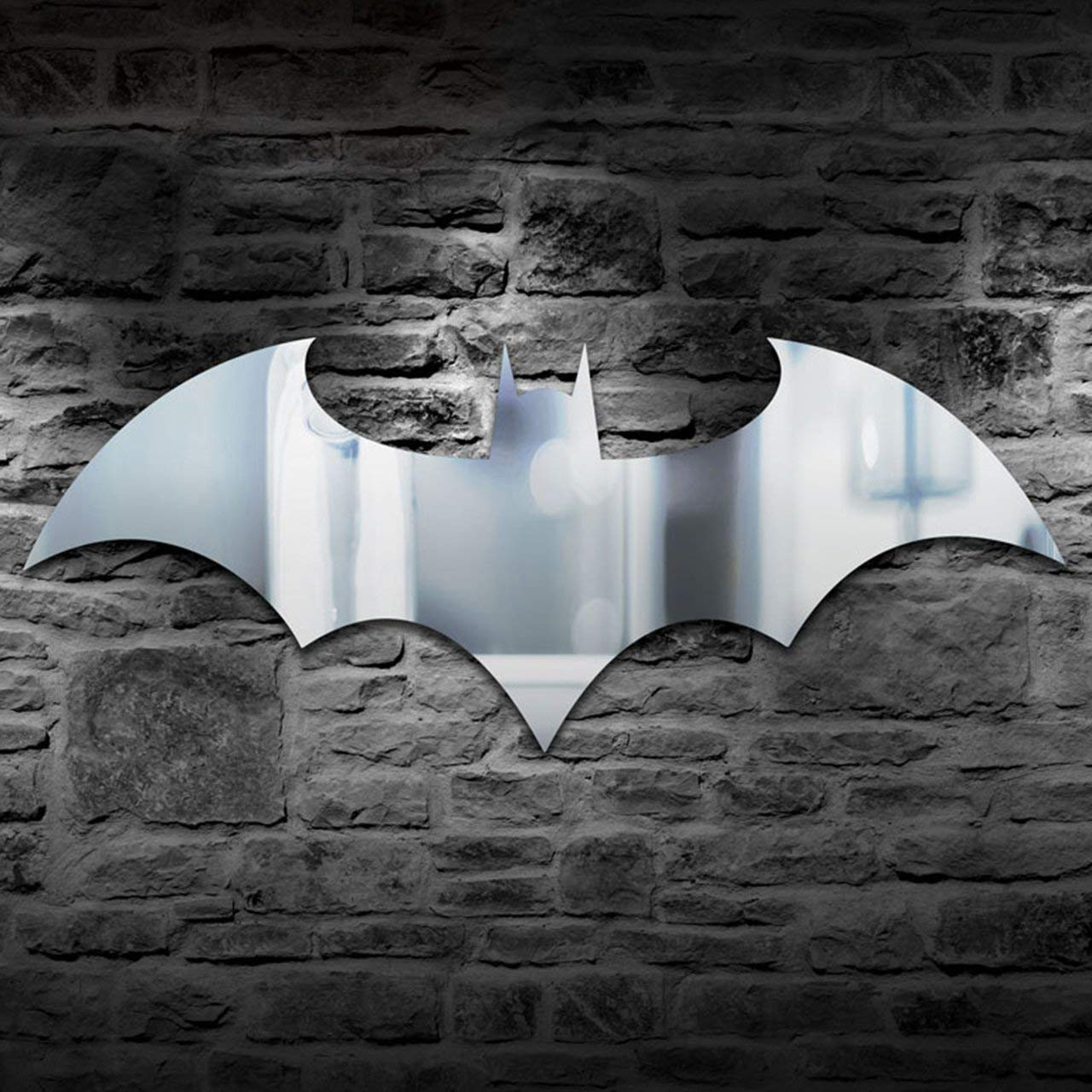 Led Wall Light Personality USB Remote Control Batman Mirror