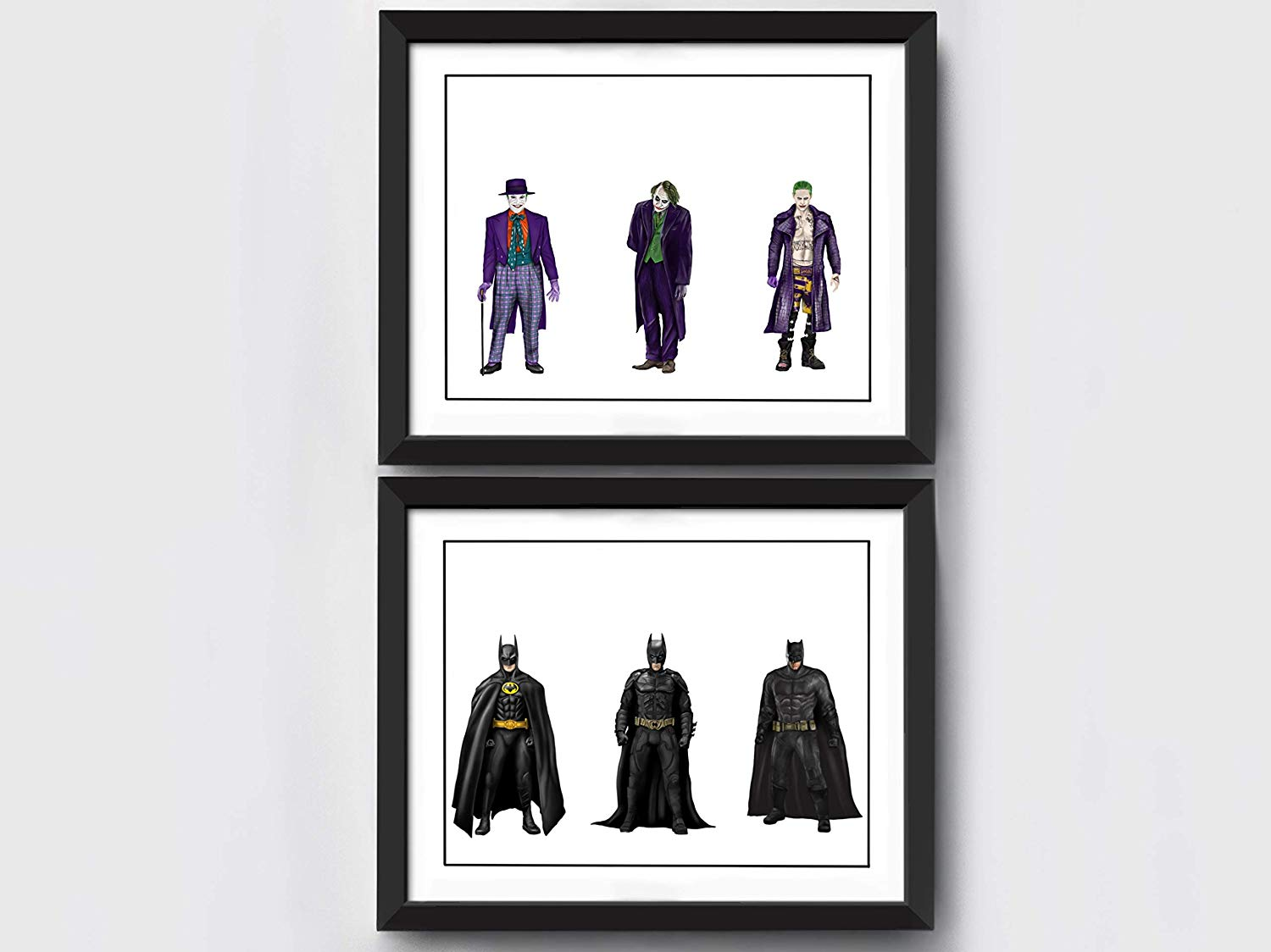 Batman and Joker Art Prints