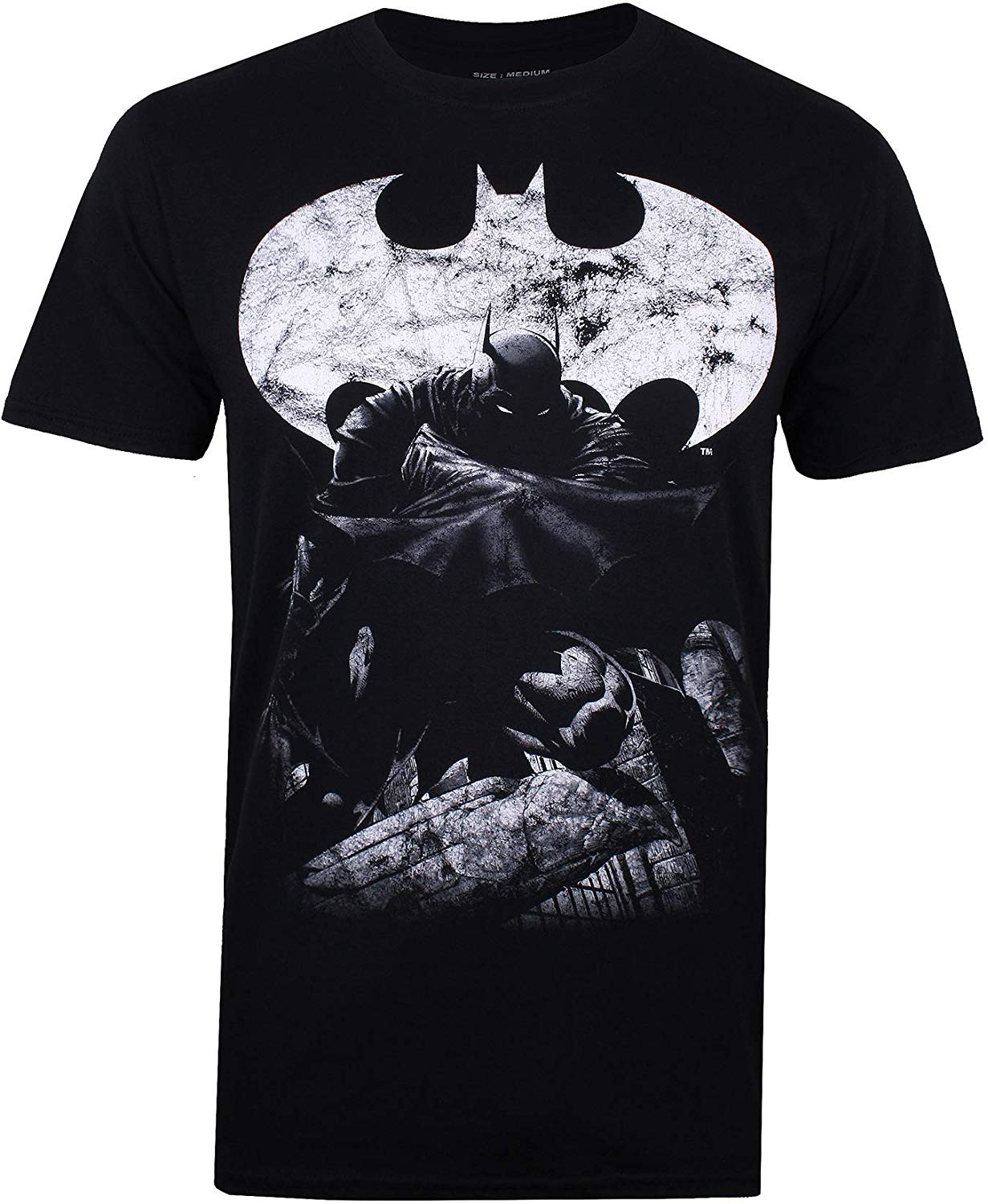 DC Comics Men's Dark Knight T-Shirt