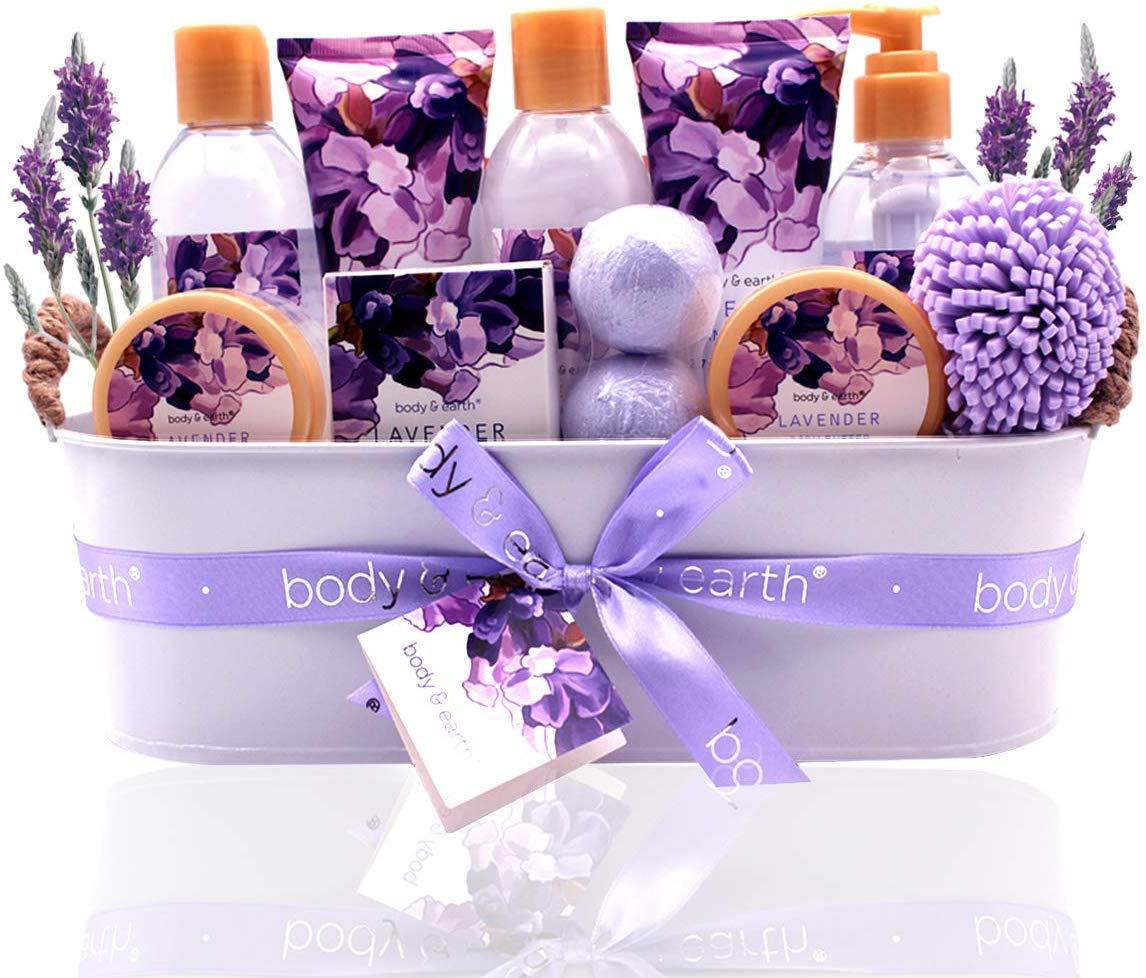 Bath Spa Gift Basket