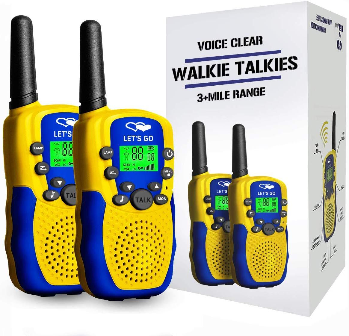 Tisy Long Range Walkie Talkies for Kids