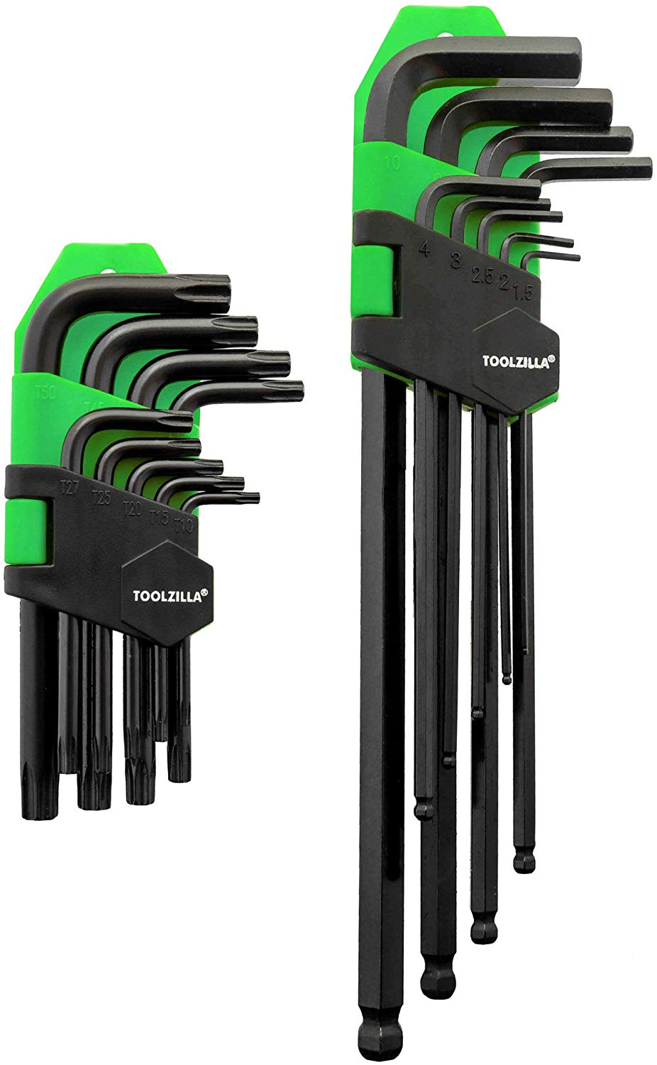 18 Piece Hex Key