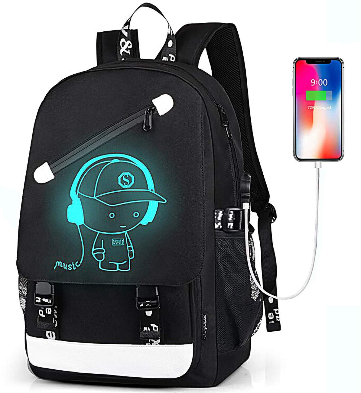 Teen Boys Backpack for Middle High School