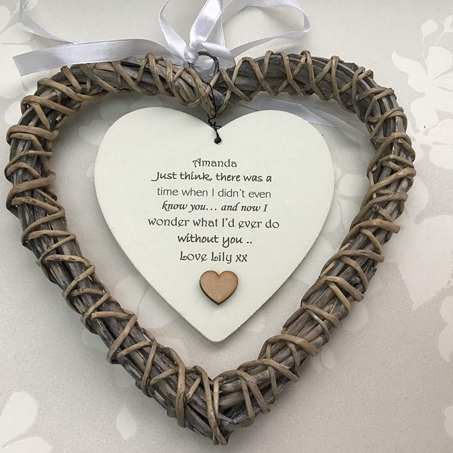 Personalised WILLOW HEART
