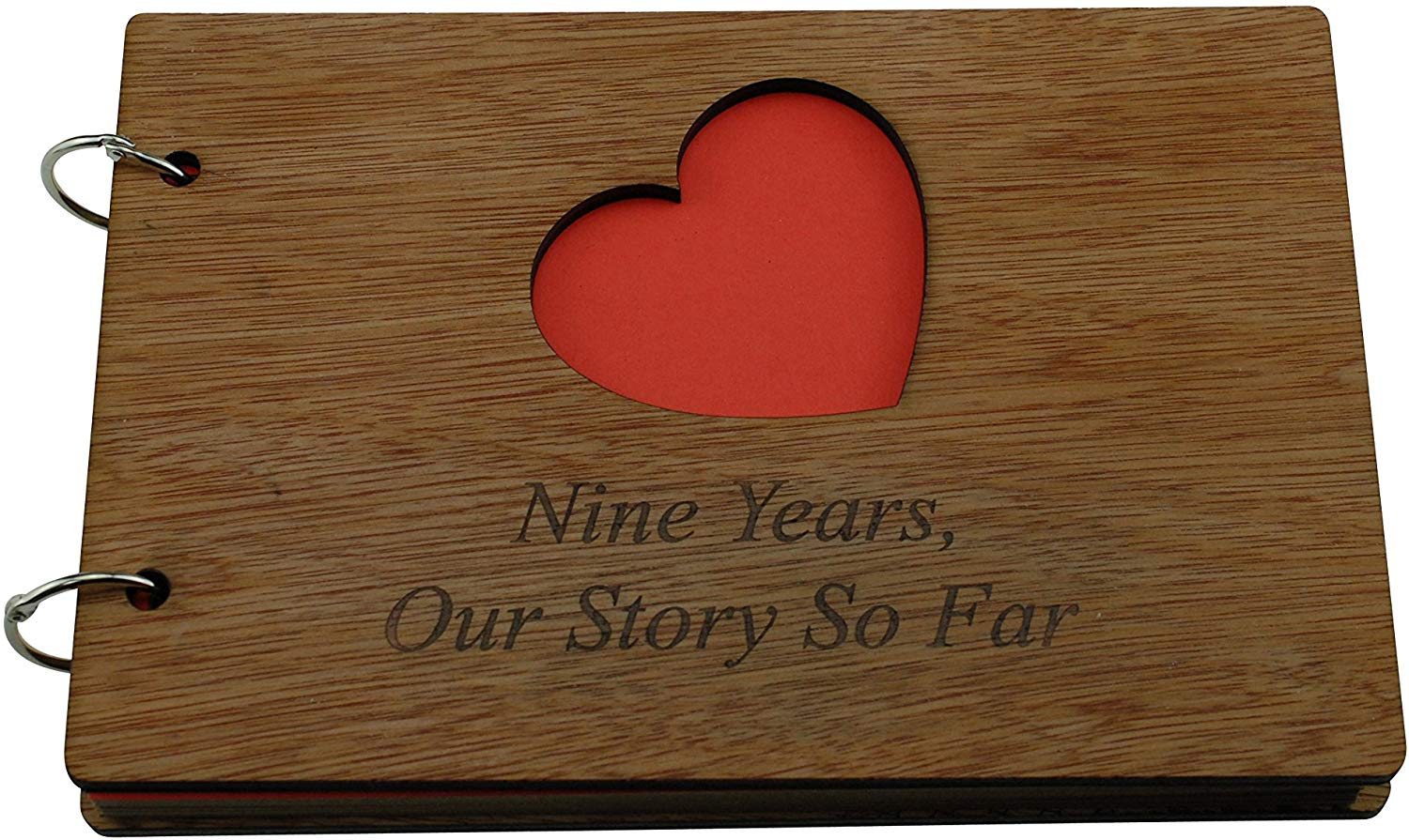 9 Years Our Story So Far - Scrapbook, Photo album or Notebook