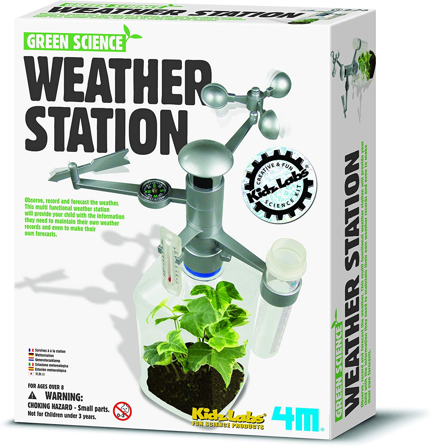 Make Your Own Science Weather Station