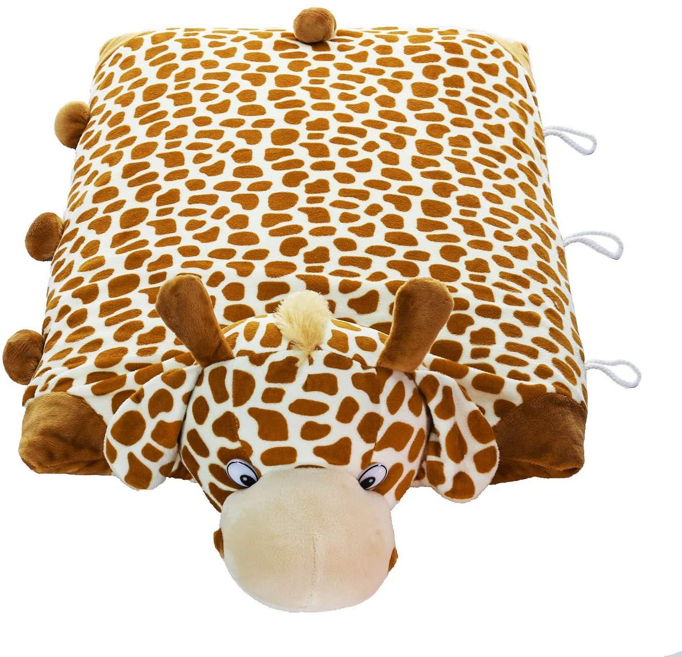 Pillow Pet Giraffe 100% Natural Latex Pillow