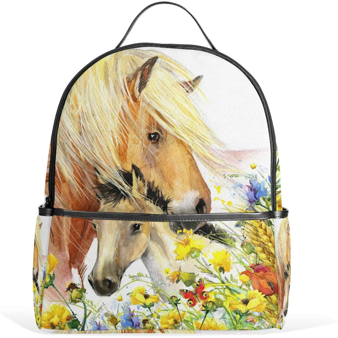 Kids Backpack Children's Day Gift Horse School Backpacks
