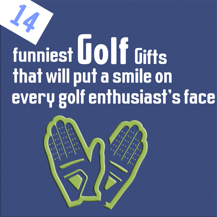 14 funniest golf gifts that will put a smile on every golf enthusiast's face
