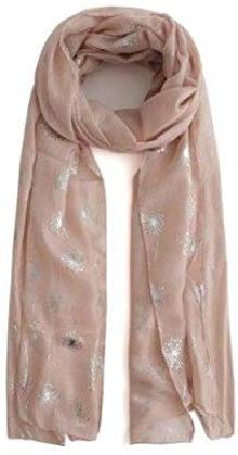 Stylish and Elegant Lightweight Dusky Pink Scarf