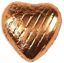 Copper Chocolate Hearts