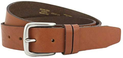 Men's Italian Leather Casual Jeans Belt