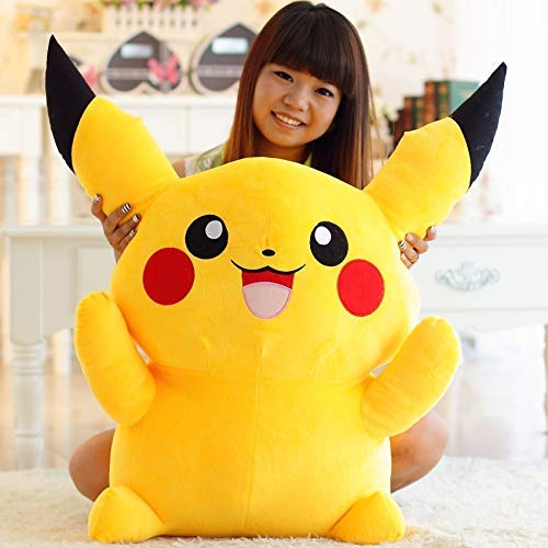 Cartoon Anime Pokémon Pikachu Doll Cute Large Plush Toy Doll Pillow Children'S Toy