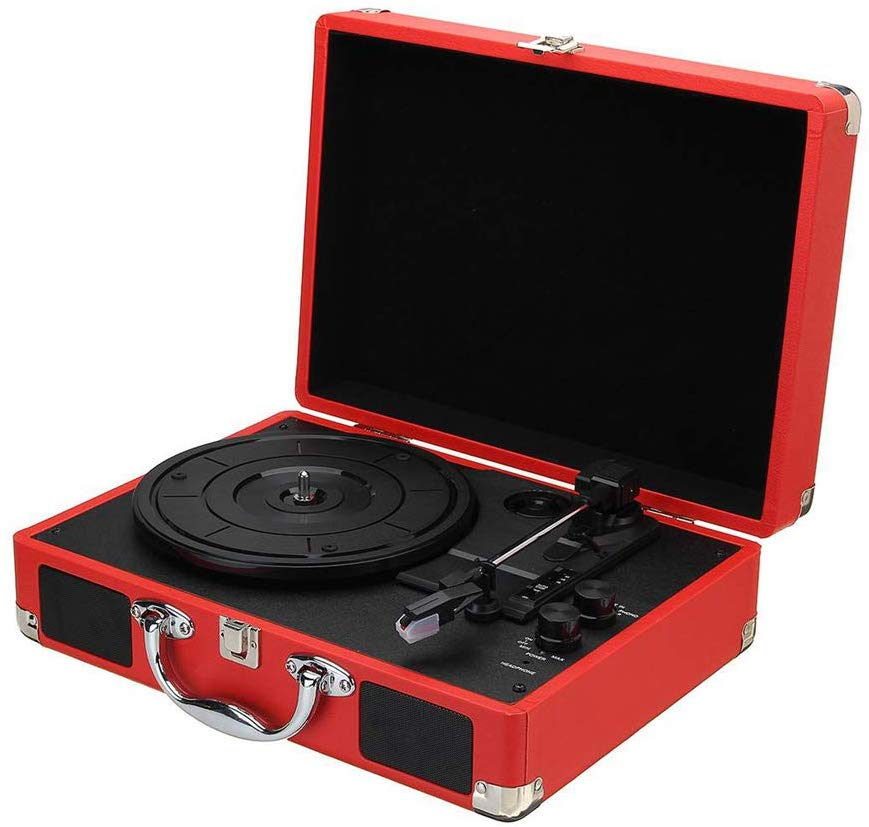 Retro Turntable Record Player,