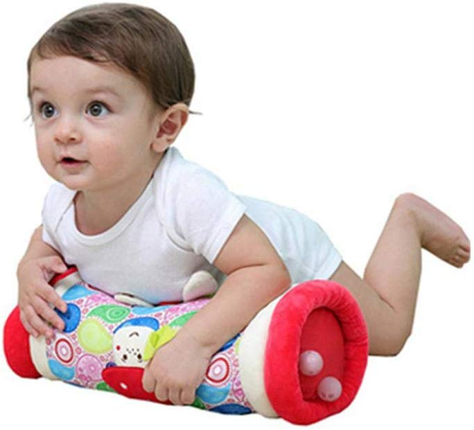 Baby Crawling Pillow Baby Roller Pillow Newborn Tummy Time Pillow