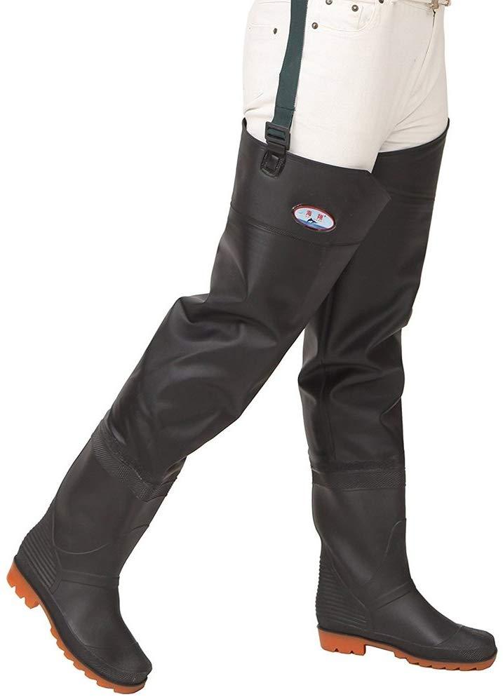 Waterproof Fishing Waders Foot Wader PVC River Boot