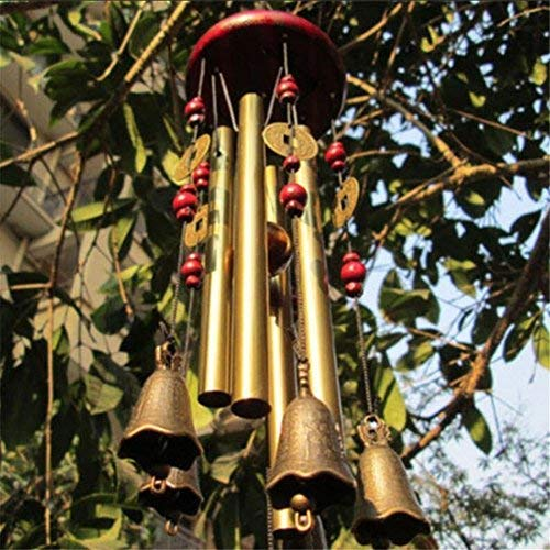 """26.33"""" Large Outdoor Living Wind Chimes Yard Antique Copper"""