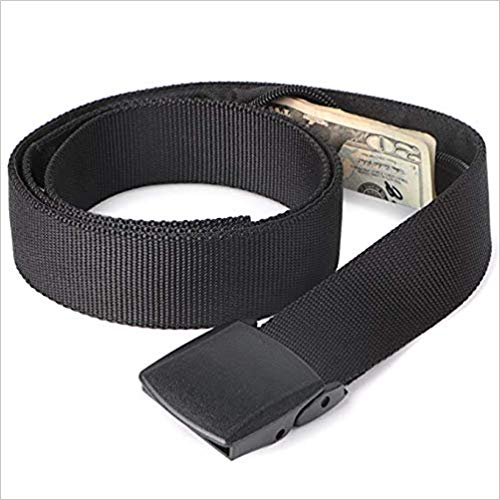 Money Belt - Active Roots Anti-Theft Security Belt