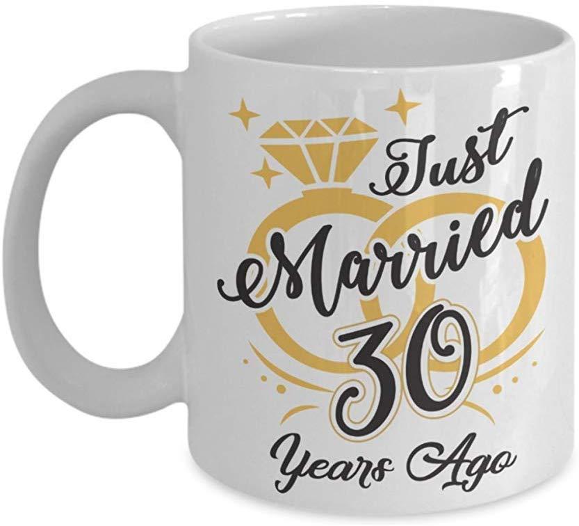 Coffee Mug,30Th Wedding Anniversary Coffee Ceramic Mug Cup