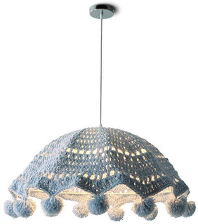 Girls Room Creative Art Rattan Cotton Yarn Wool Chandeliers